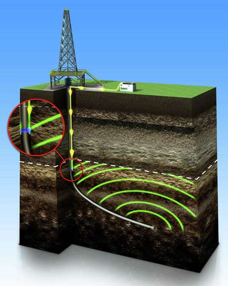 The Weatherford CasingLink sends downhole data to the surface via an insulated wire outside the casing string. Photo: Weatherford