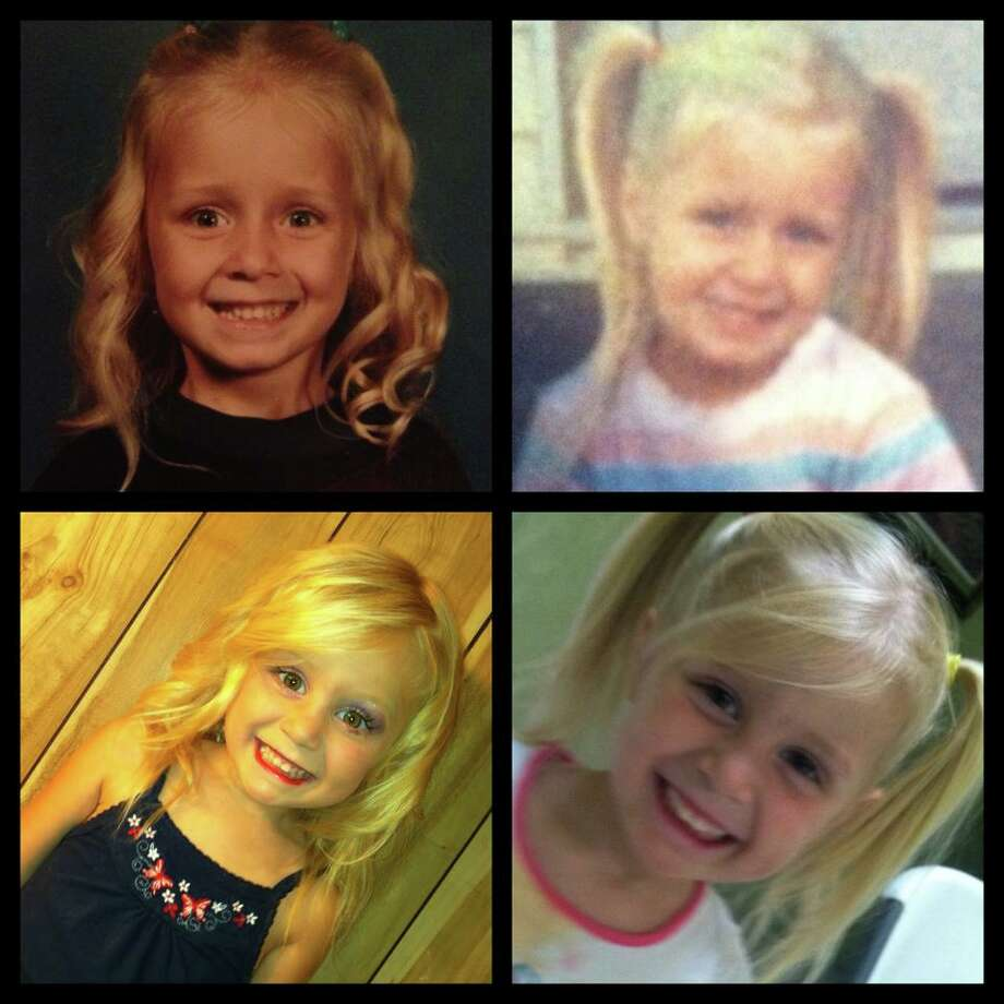 "Lee-Ann Alpers: ""The top row is me, and the bottom row is my daughter!"""