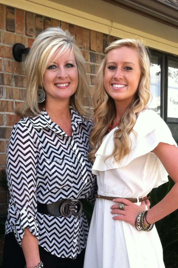 Julie Murphy and daughter Heather Murphy, Evadale, TX