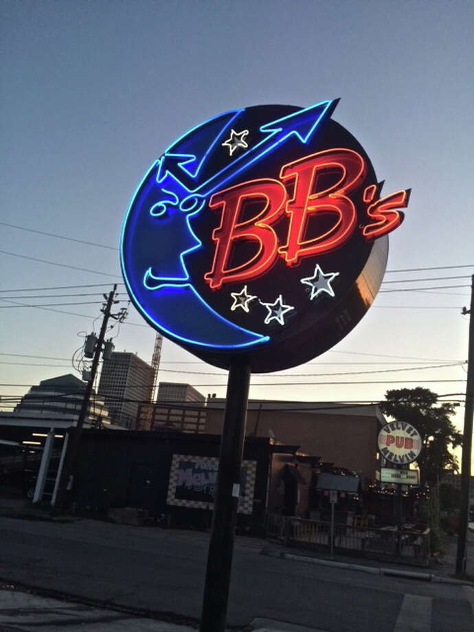 BB's man in the moon logo, Upper Kirby location on Richmond Ave. Photo: Alison Cook