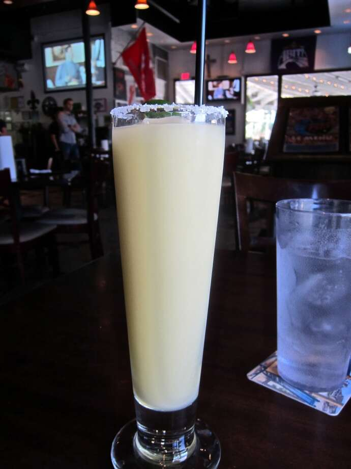 Frozen margarita at BB's Heights location, Studemont at White Oak. Photo: Alison Cook