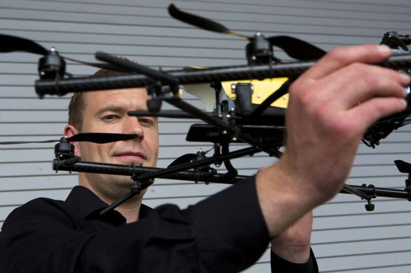 Malcolm Connolly, Founder and Technical Director at Cyberhawk, a company specialized in aerial inspe