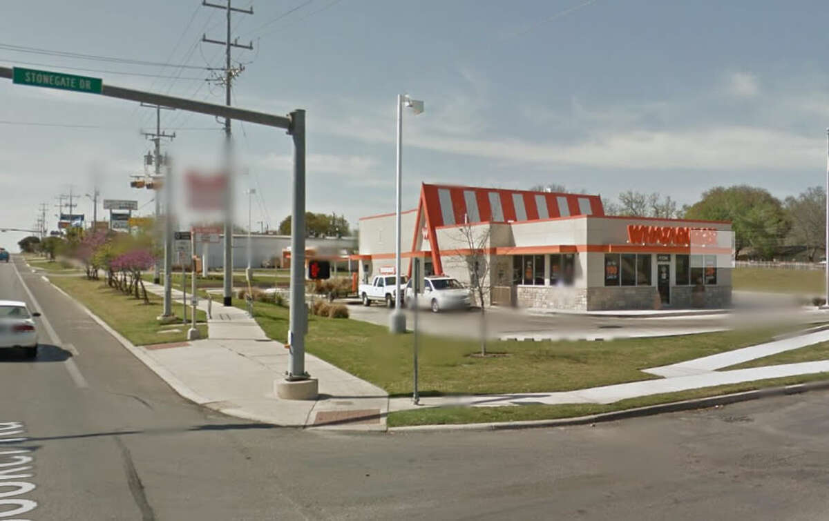 Ricardo Sanchez, 37, of Universal City, fell asleep inside the Whataburger in the 1100 block of Pat Booker Road after ordering food on the morning of April 30, the manager told police. He was later charged with DWI.