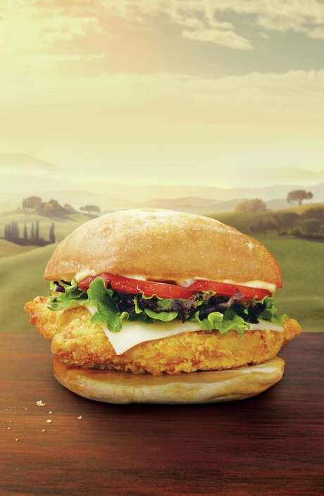 Wendy's Tuscan Chicken on Ciabatta Photo: Scott Peterson