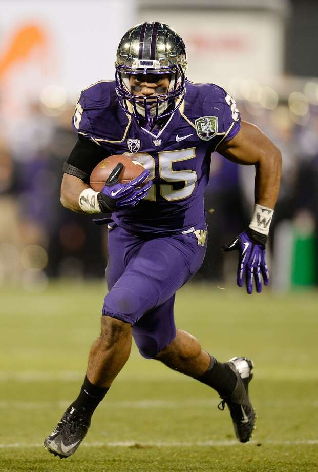 29. Bishop Sankey, RB  5-9, 209, Washington Photo: Thearon W. Henderson, Getty Images