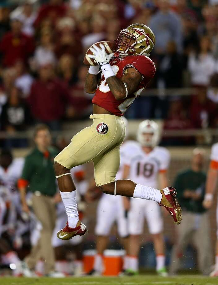 28. Lamarcus Joyner, CB  5-8, 184, Florida State Photo: Mike Ehrmann, Getty Images