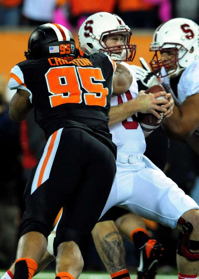21. Scott Crichton, DE  6-3, 273, Oregon State Photo: Steve Dykes, Getty Images