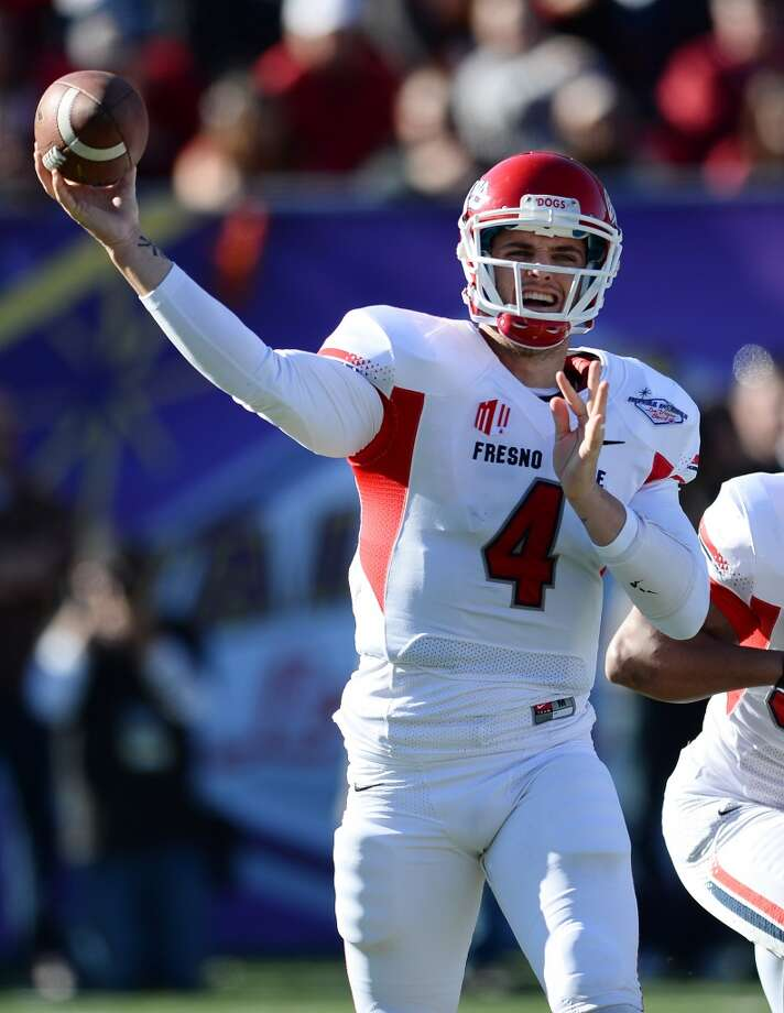 10. Derek Carr, QB  6-2, 214, Fresno State Photo: Ethan Miller, Getty Images