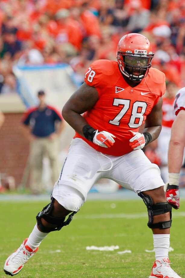 9. Morgan Moses, OT  6-6, 314, Virginia Photo: Geoff Burke, Getty Images