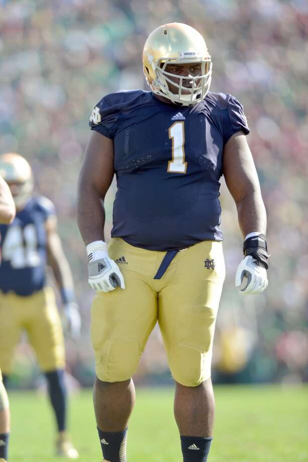 1. Louis Nix III, NT  6-2, 331, Notre Dame Photo: Jackson Laizure, Getty Images