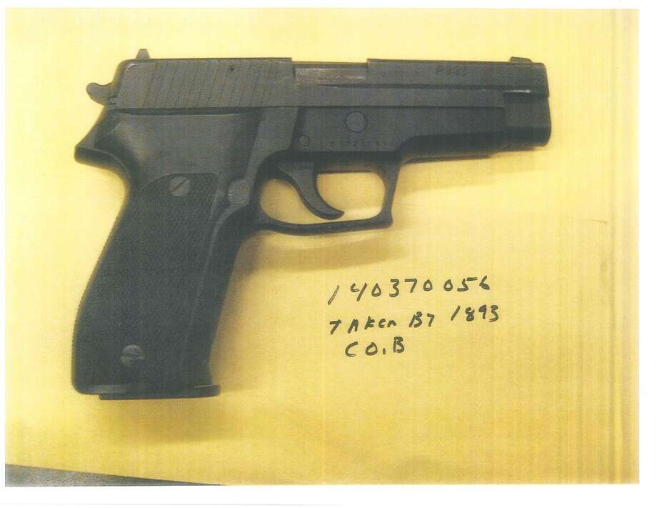 The third handgun recovered Sunday after police arrested four suspects in San Francisco's SoMa neighborhood.