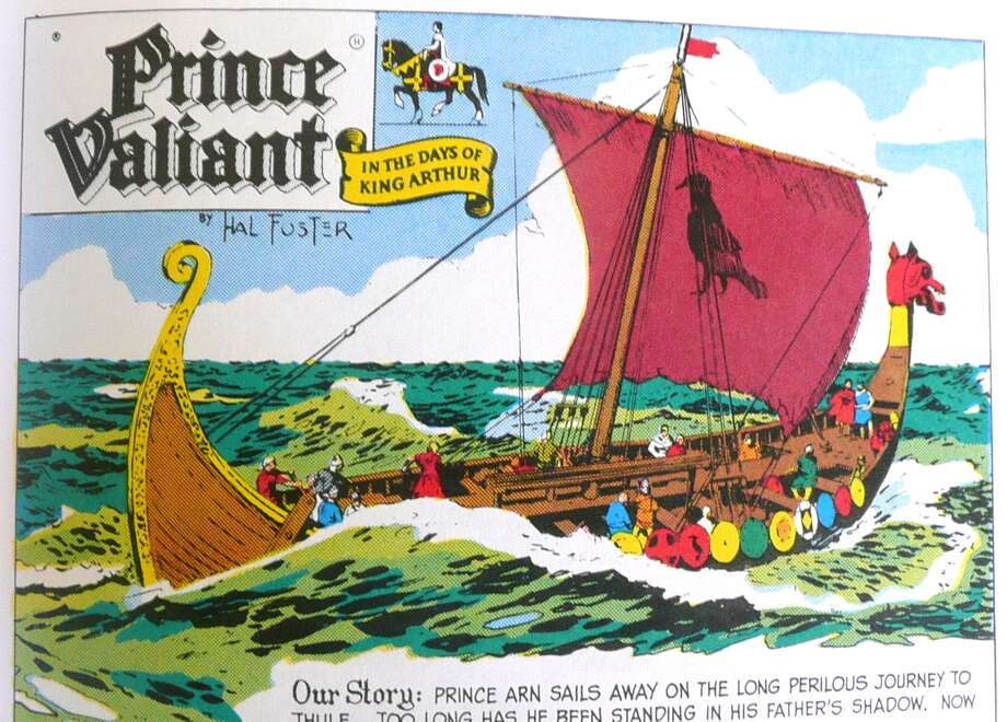 "The title page of a ""Prince Valiant"" strip drawn by the late John Cullen Murphy, who lived in Greenwich. Photo: Contributed Photo / Greenwich Time contributed"
