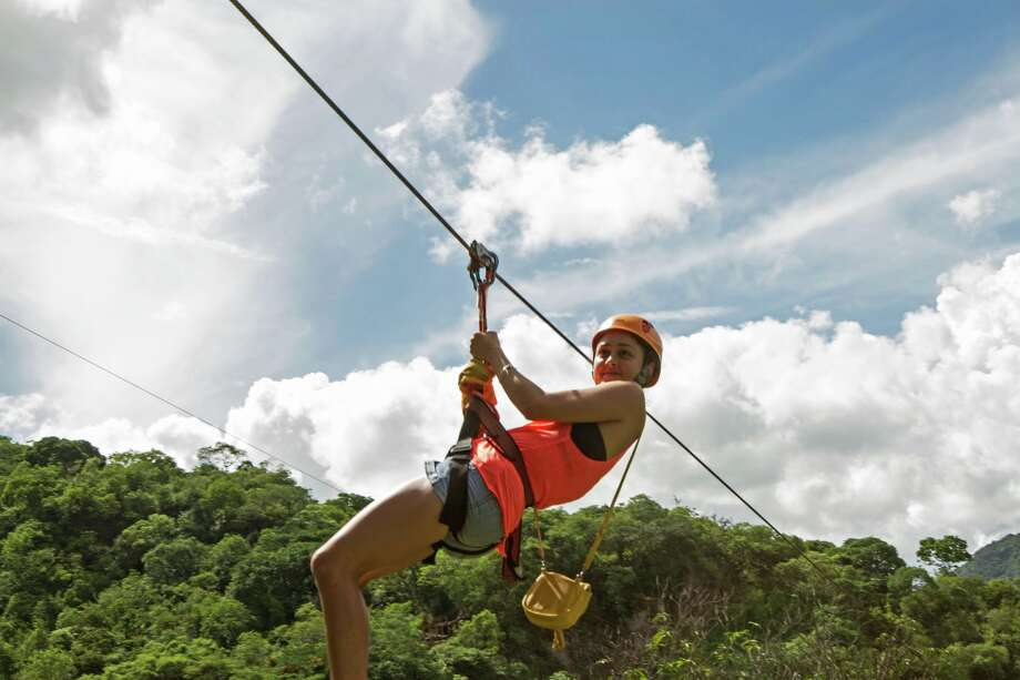 Visitors in the Chiapas Adventures tour will have a chance to zip-line in the Lacandona Rainforest. Photo: Evan Swinehart, ATTA / evanswinehart.com