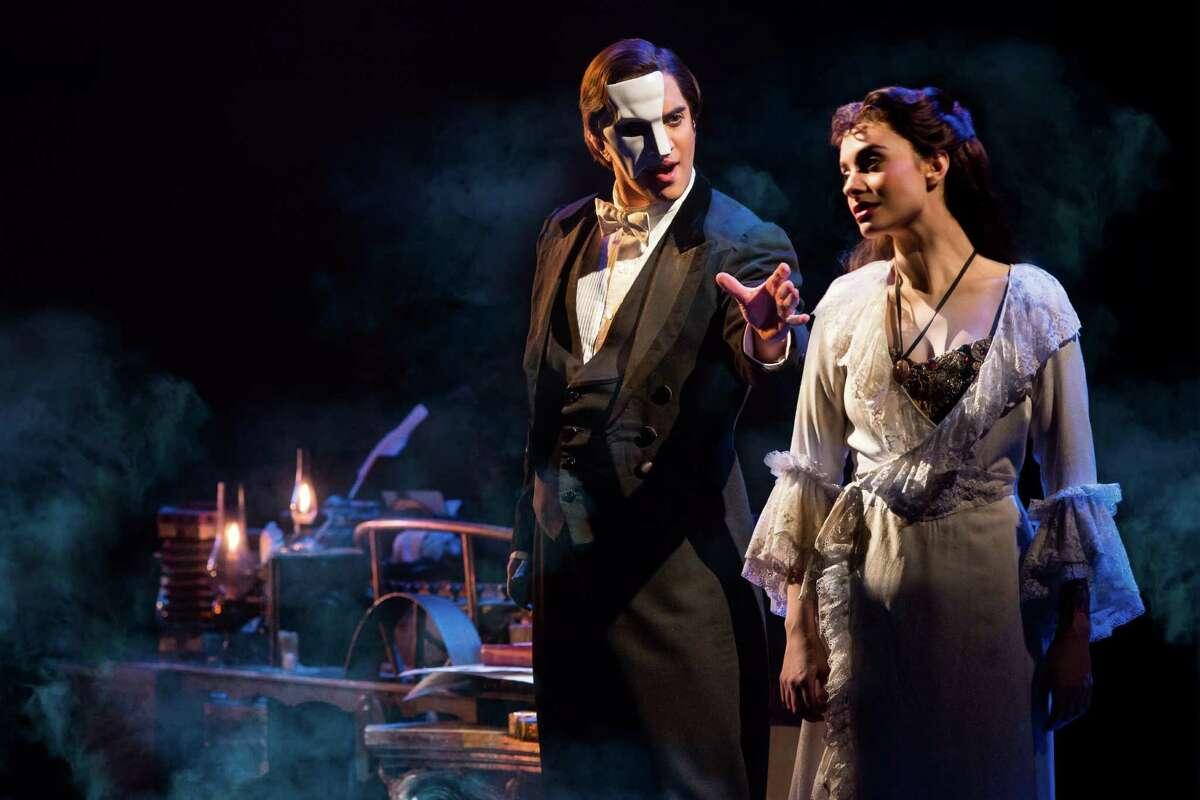 Cooper Grodin and Julia Udine The Phantom of the Opera.