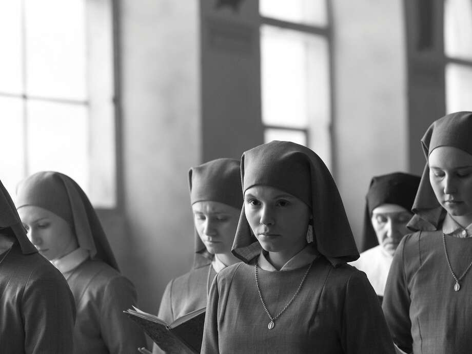 "Agata Trzebuchowska in ""Ida"" is a novitiate and orphan whose world is disrupted by a visit from an aunt. Photo: Music Box Films"