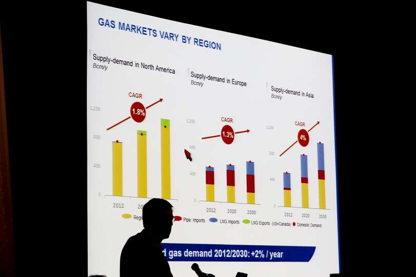 Laurent Maurel discuss Midstream Gas Monetization on day three of OTC on May 7, 2014 inside the NRG