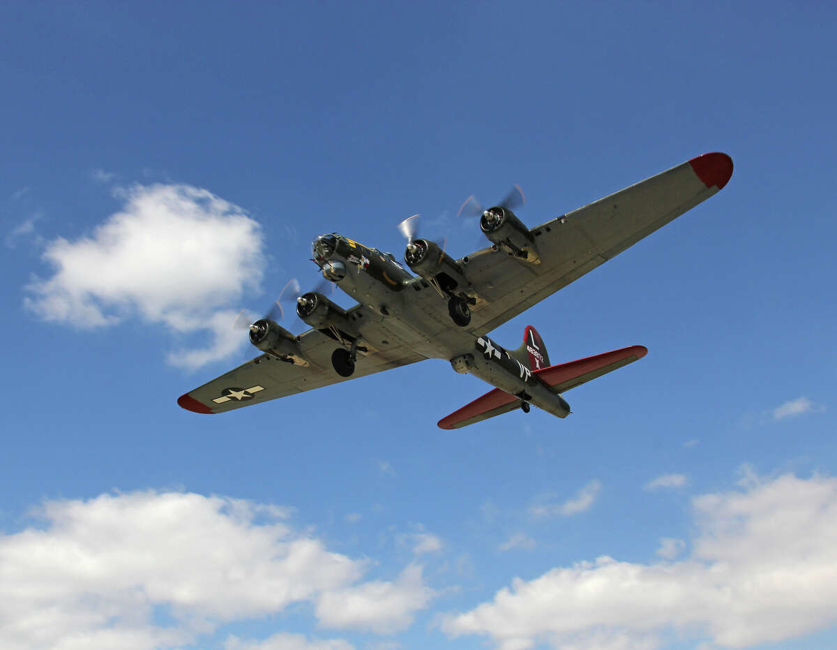 The Texas Raiders is one of only nine remaining B-17 bombers left out of 12,700 built for WWII.