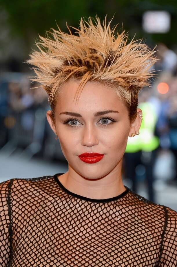 #17 Miley Cyrus Photo: Larry Busacca, Getty Images