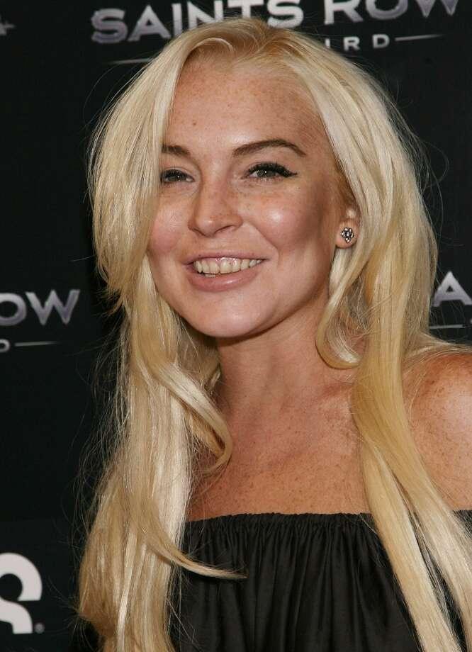 Lindsay Lohan Photo: Jonathan Leibson, FilmMagic