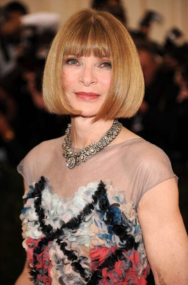 Anna Wintour Photo: Kevin Mazur, WireImage