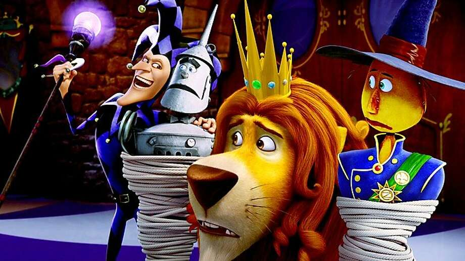 """Familiar characters suffer from poor animation in """"Legends of Oz: Dorothy's Return."""" Photo: Clarius Entertainment"""