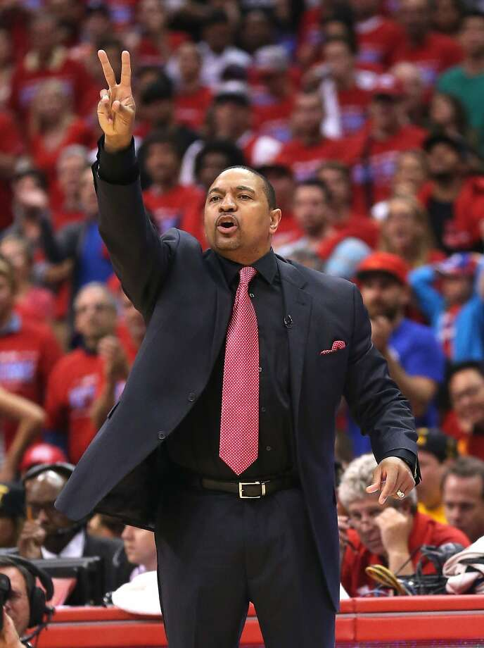Mark Jackson, who thanked the Warriors for giving him a chance, would like another shot at coaching. Photo: Stephen Dunn, Getty Images