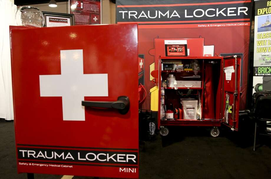 Trauma Locker's on display on day three of OTC on May 7, 2014 inside the NRG Arena in Houston, TX. (Photo: Thomas B. Shea/For the Chronicle) Photo: Thomas B. Shea, For The Chronicle
