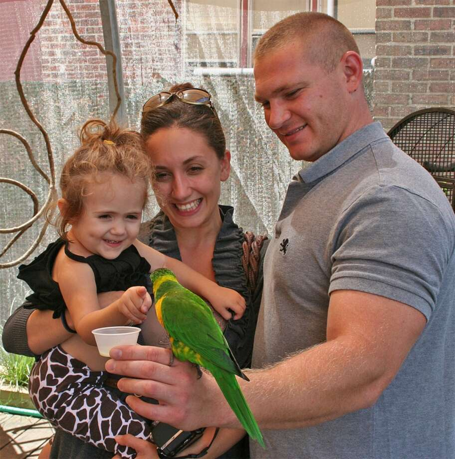 "Step into a lush aviary to share a laugh and a squawk with beautiful tropical birds that will sip food right out of your hands as ""Lorikeets"" returns as the special summer exhibit at The Maritime Aquarium at Norwalk. Find out more."