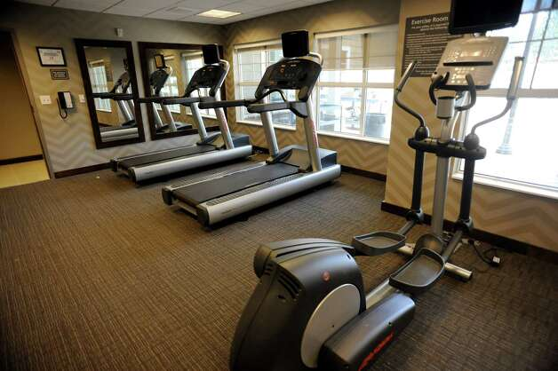 Fitness center in the new Residence Inn by Marriott on Wednesday, May 7, 2014, in Clifton Park, N.Y. (Cindy Schultz / Times Union) Photo: Cindy Schultz / 00026769A