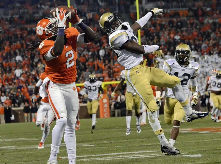 3. Jacksonville: Sammy Watkins, WR, Clemson.  They get the best receiver in the draft over Johnny Football.  Mock 5: Khalil Mack, OLB, Buffalo. Photo: Richard Shiro, Associated Press