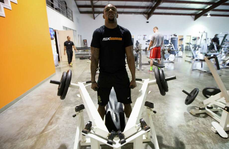 The long hours Demetri Goodson spent at the Plex facility in Stafford were tailored to the schedule for an NFL draft prospect, focusing on specific areas for the February scouting combine, Baylor's pro day in March and later the cornerback's private workouts for teams. Photo: J. Patric Schneider, Freelance / © 2014 Houston Chronicle