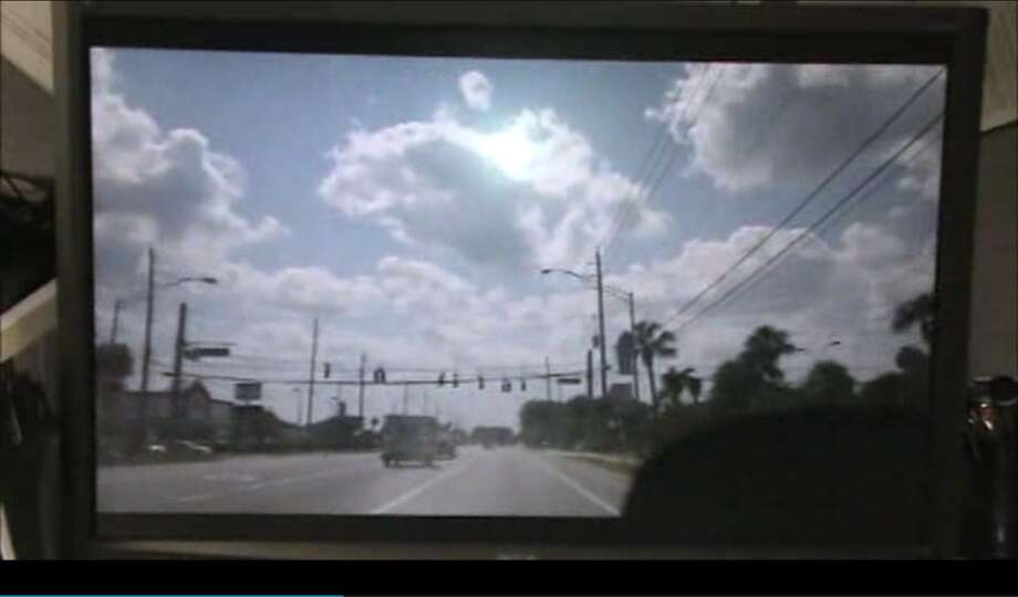 New Smyrna Beach's Robert Charles Kelley IV, 18, used his phone to capture video of his reckless driving. He hit four cars, and caused two wrecks.  And then got arrested.