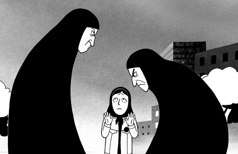 "Marjane Satrapi's 2007 film ""Persepolis,"" adapted from a graphic novel, was nominated for an Oscar. Photo: Sony Pictures Classics"