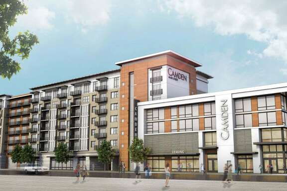 This is a rendering of a new Camden apartment development in Midtown, where urbanization is booming.