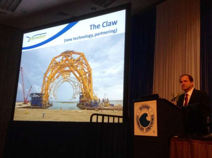 John Khachaturian, President/CEO of Versabar Inc. talks about offshore decommissioning and abandonme