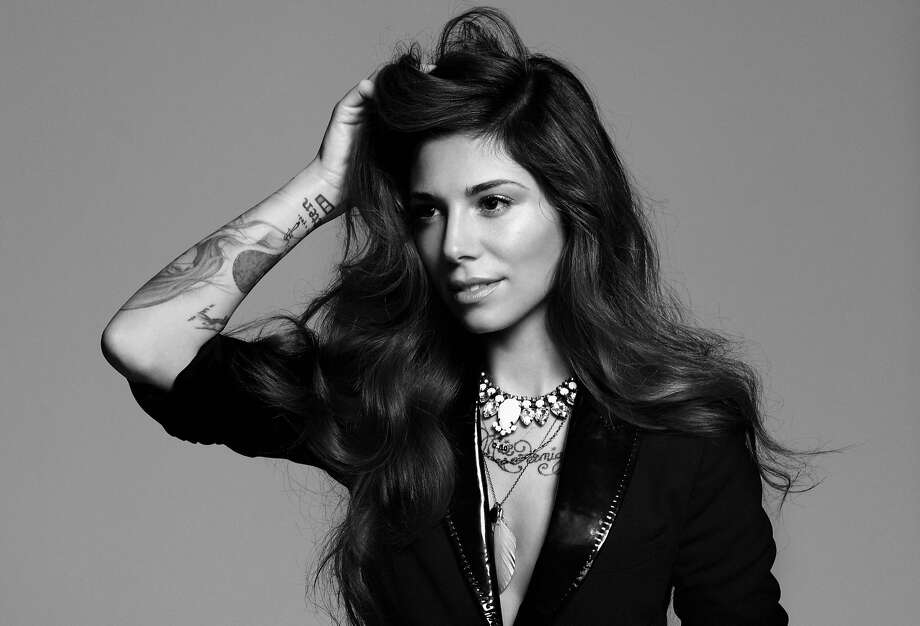 "Christina Perri, whose hits include ""Jar of Hearts"" and ""Human,"" tries to win over her whole audience. Photo: Atlantic Records"