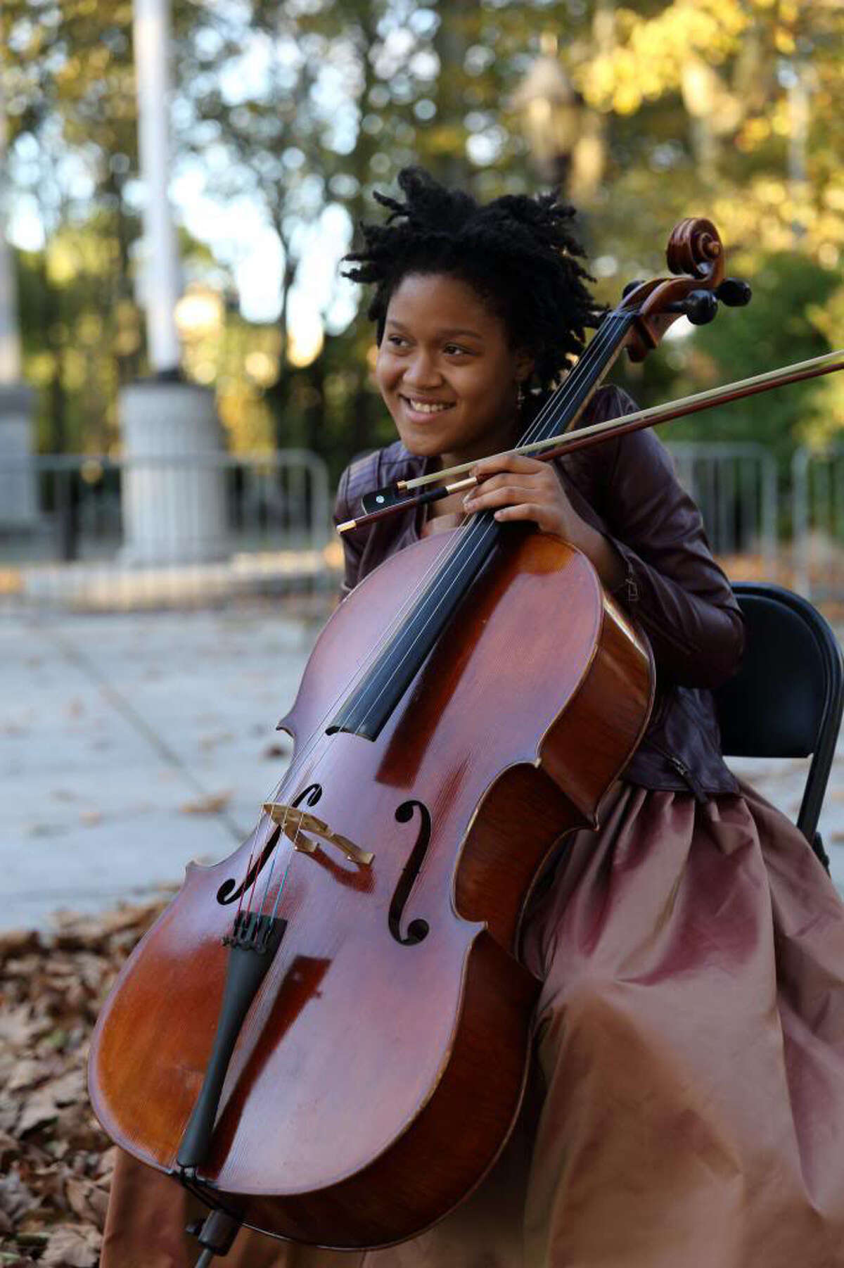 New York City-based Sujari Britt has already achieved acclaim and accolades for her command of the cello and its repertoire. She already has performed at the White House for the president and his family and has appeared on national television. She will perform in Stamford, Conn., on May 18, 2014.