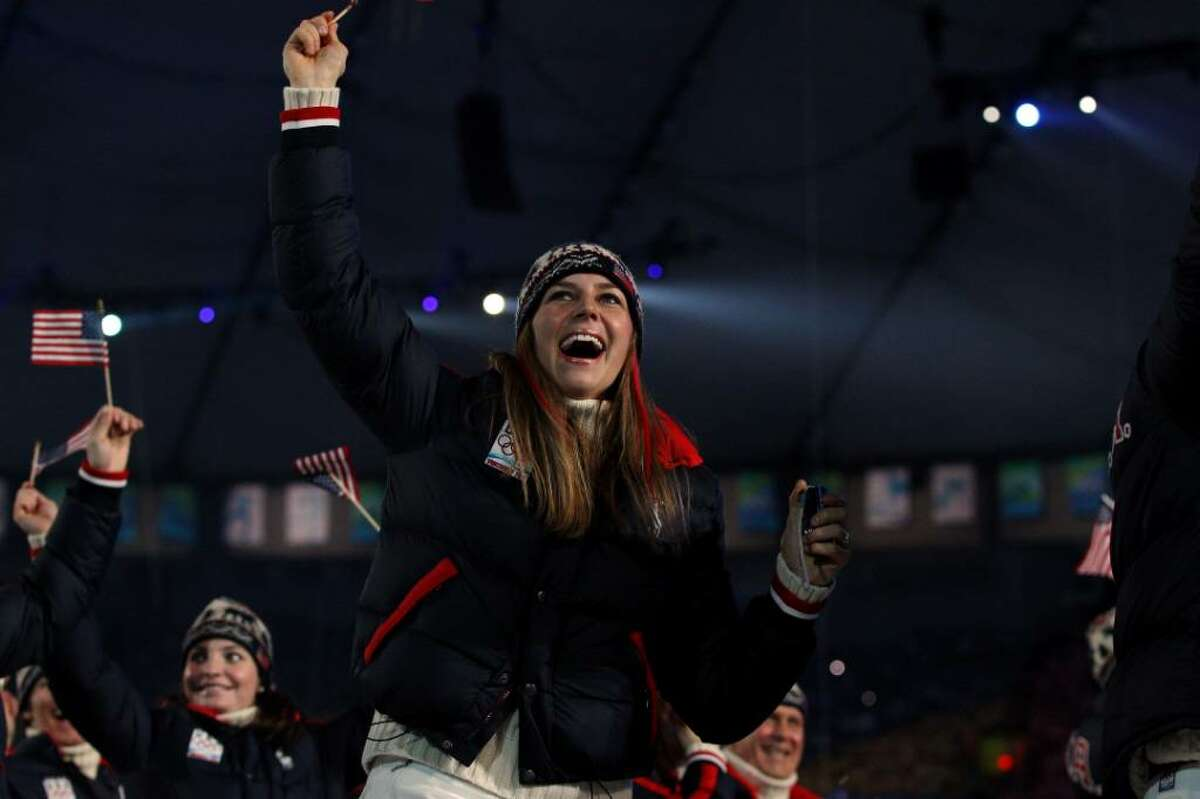 VANCOUVER, BC - FEBRUARY 12: The United States team enter the stadium during the Opening Ceremony of the 2010 Vancouver Winter Olympics at BC Place on February 12, 2010 in Vancouver, Canada. (Photo by Cameron Spencer/Getty Images)