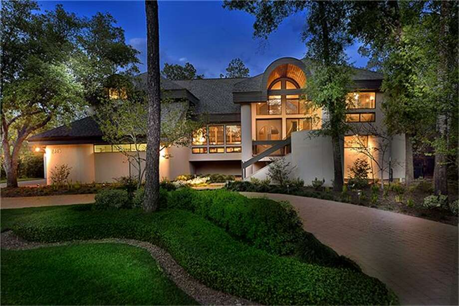 Woodlands Home Is A Contemporary Wonder Houston Chronicle