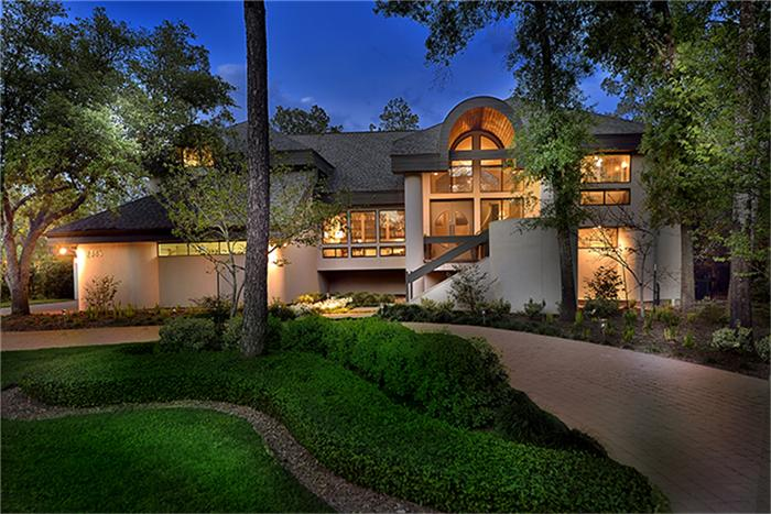 Woodlands home is a contemporary wonder houston chronicle for Contemporary homes houston