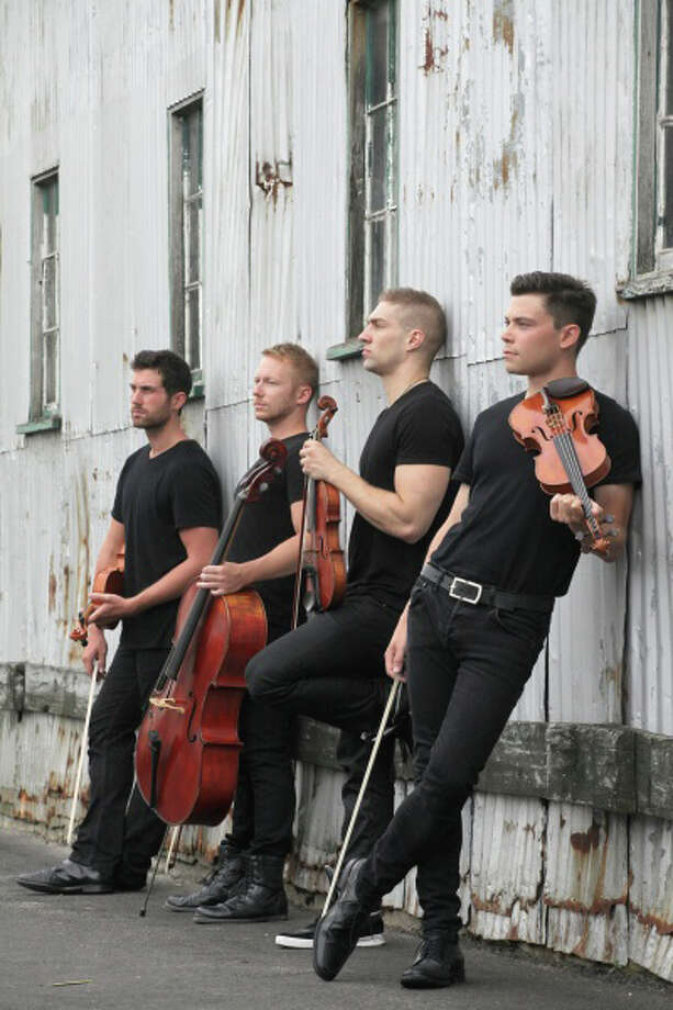 Well-Strung, the singing string quartet, will perform at the Palace Danbury on Saturday, May 17. Photo: Contributed Photo / The News-Times Contributed
