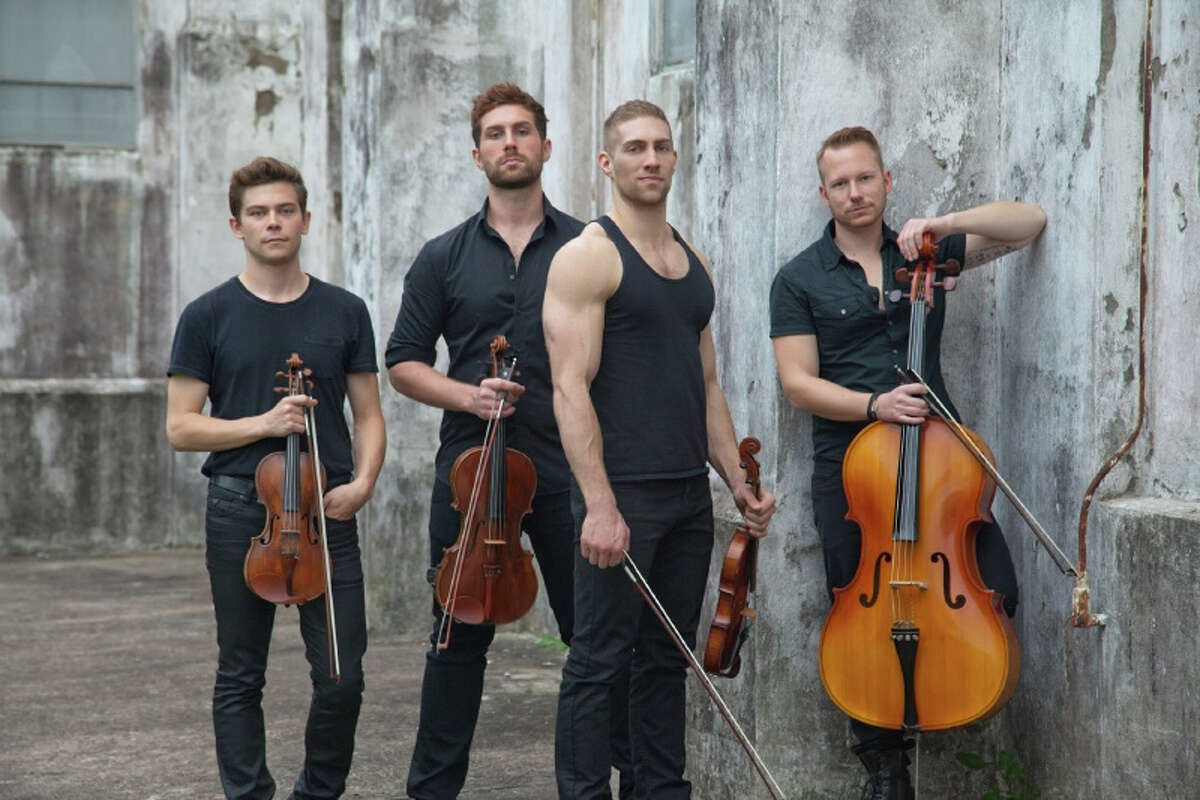 Well-Strung, the singing string quartet, will perform at the Palace Danbury on Saturday, May 17.