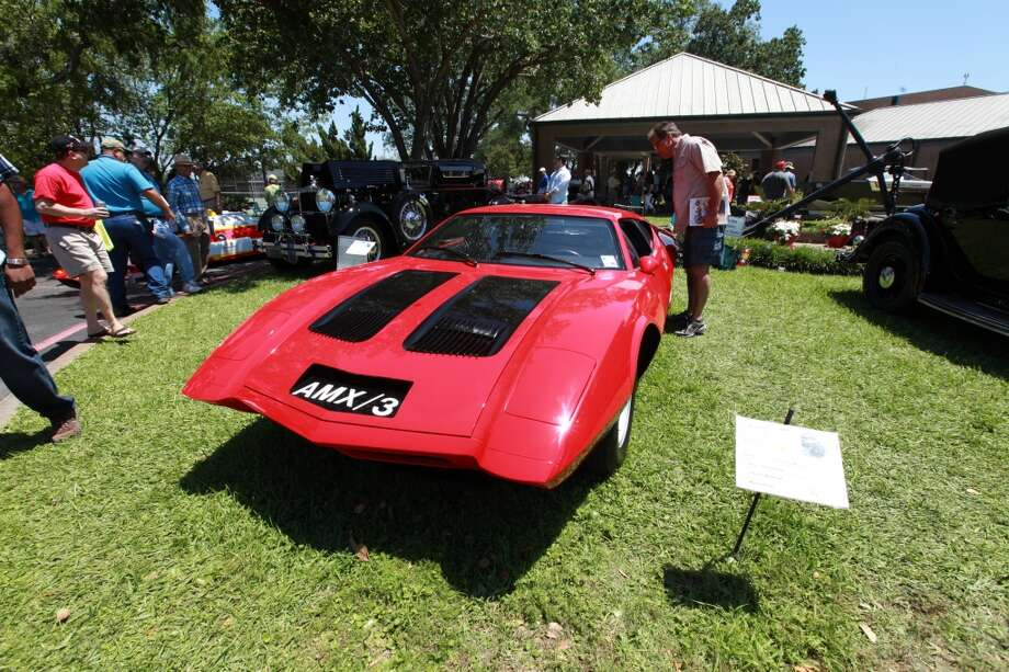 Over 180 cars and 75 boats were on display at the Lakewood Yacht Club.