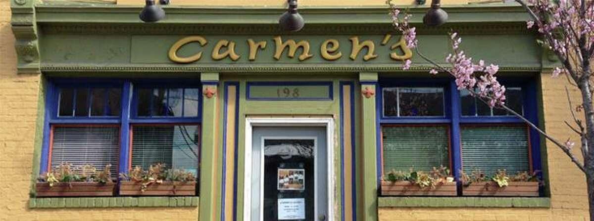 Carmen's Café . 198 First St., Troy. 518-326-2064. View menu on Table Hopping. Visit Web site.