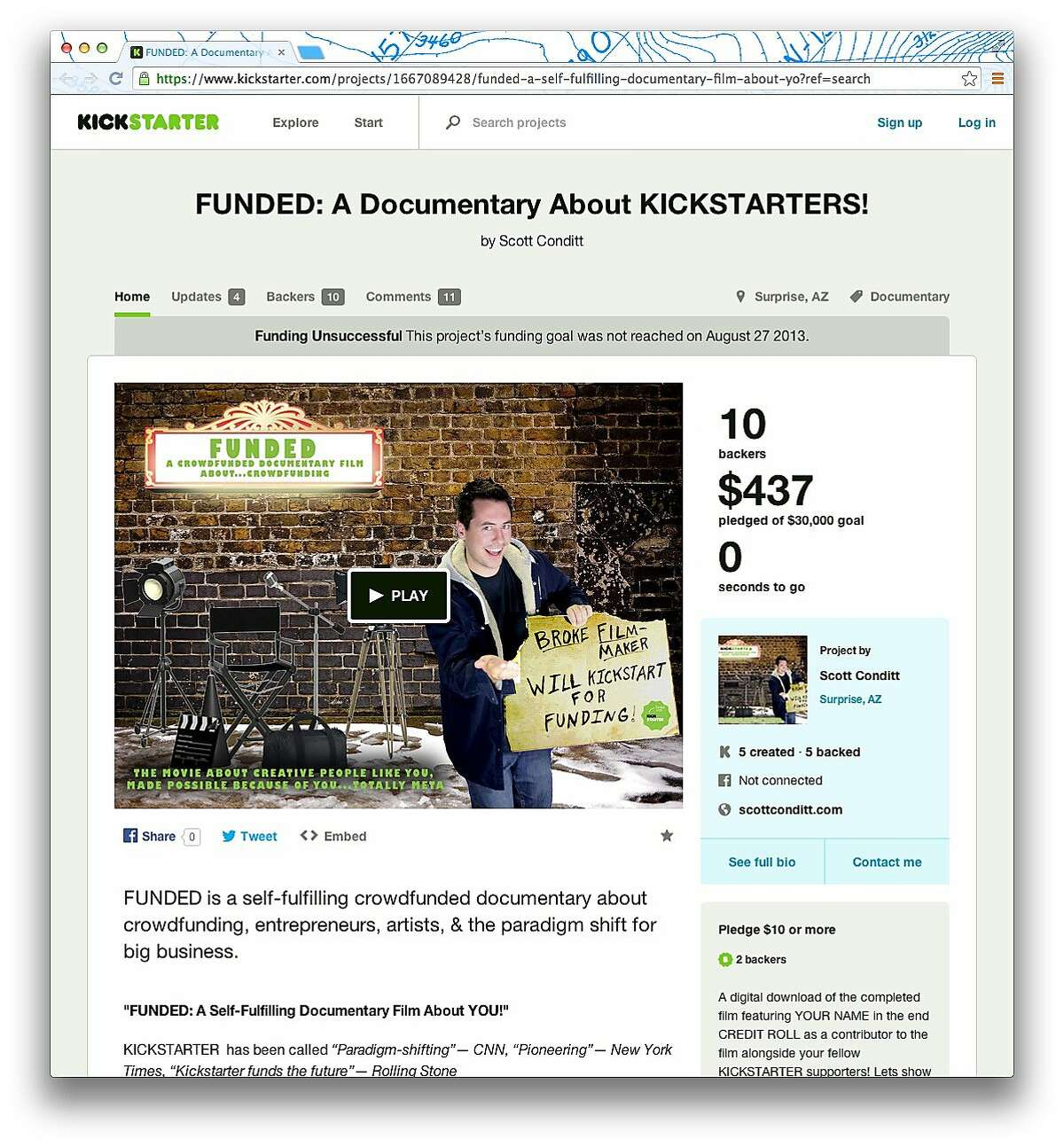 A Kickstarter project called