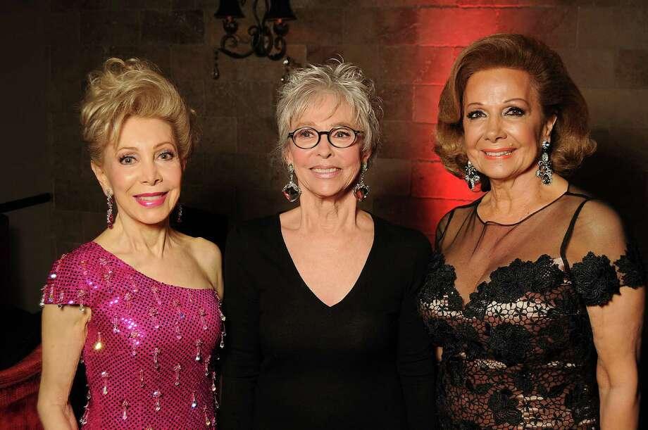 Margaret Alkek Williams, from left, Rita Moreno and Philamena Baird Photo: Dave Rossman, Freelance / © 2014 Dave Rossman