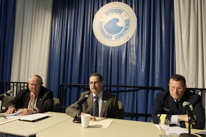Charlie Williams with the Center for Offshore Safety, Brian Salerno with the U.S. Department of the