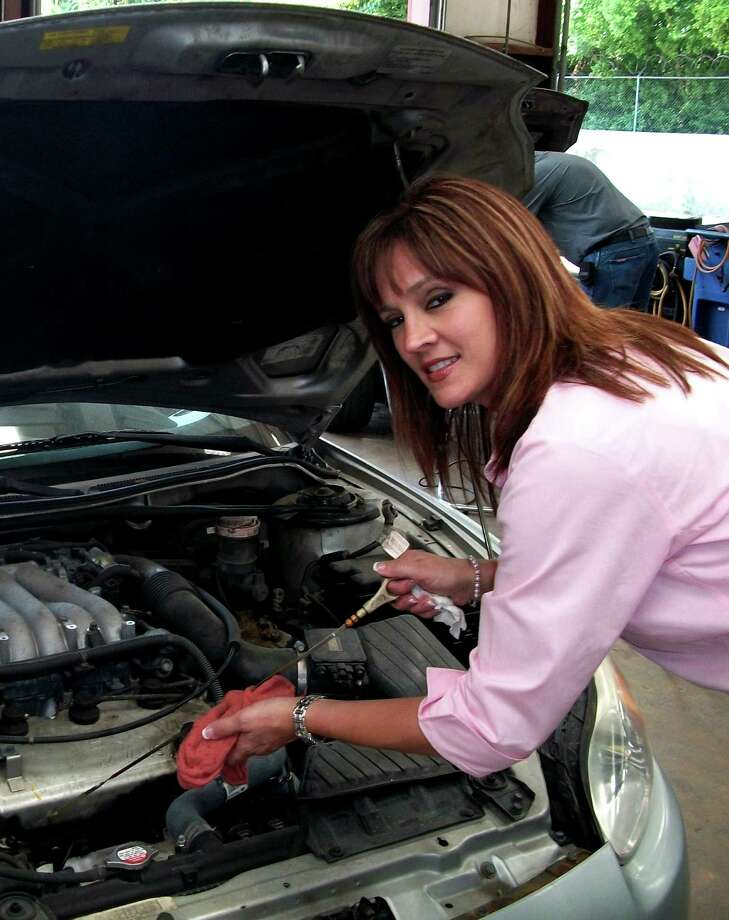 Amy Milstead, president of Milstead Automotive, created the Lipsticks and Dipsticks Car Care program.