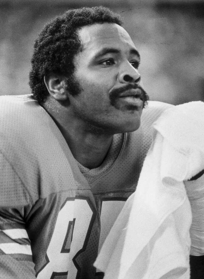 """1974One win in 1973 won the Oilers another first pick overall, but coach-general manager Sid Gillman wanted proven players, so he sent that choice and the first pick of the third round to the Dallas Cowboys for defensive end Tody Smith (pictured) and wide receiver Billy Parks, neither of whom contributed much in Houston. The Cowboys, in turn, drafted Ed """"Too Tall"""" Jones and Danny White with the Oilers' picks. Jones helped Dallas win a Super Bowl in 1977 and get there other times, while White started for six seasons, leading the Cowboys to the NFC Championship Game twice. Photo: SAM C. PIERSON, Houston Chronicle"""