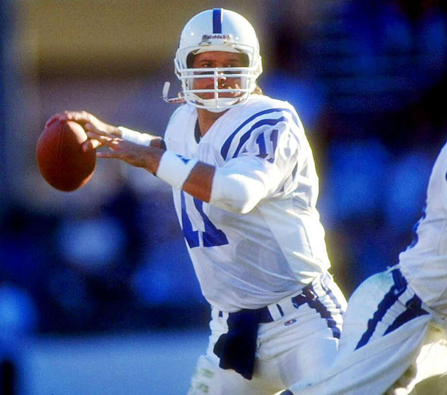 1990The Cowboys should have earned the No. 1 overall after their 1-15 finish in 1989, but they had forfeited it to take Steve Walsh in the previous season's supplemental draft. The pick went instead to Atlanta, which traded it to Indianapolis so the Colts could take quarterback Jeff George. George spent 13 years in the NFL but never made a single Pro Bowl team. The Falcons drafted 20th overall, taking running back Steve Broussard, who had a journeyman career with three teams.